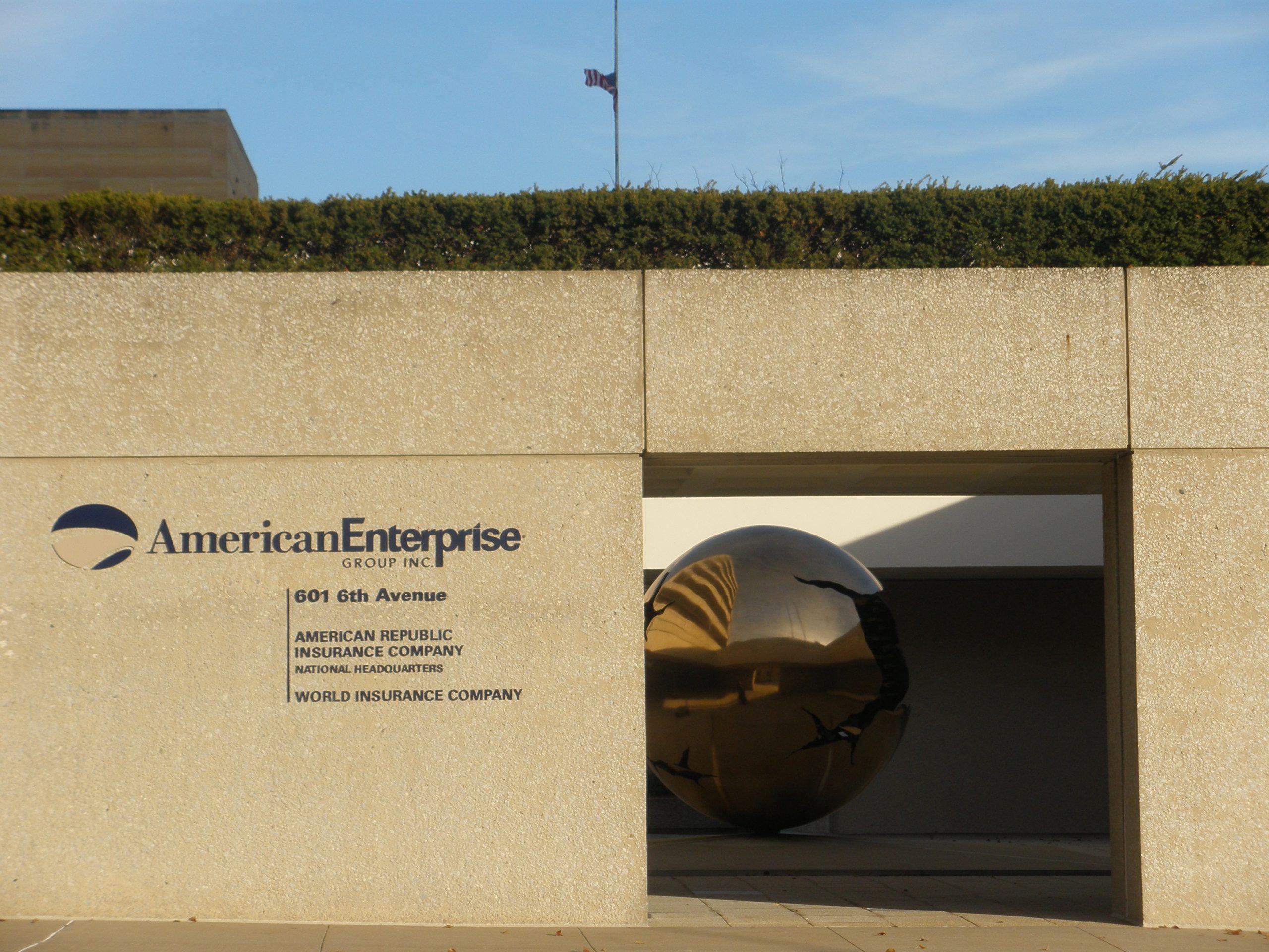 American Republic Insurance Sfera con Sfera