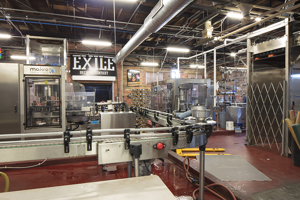 Exile Brewing Company Addition