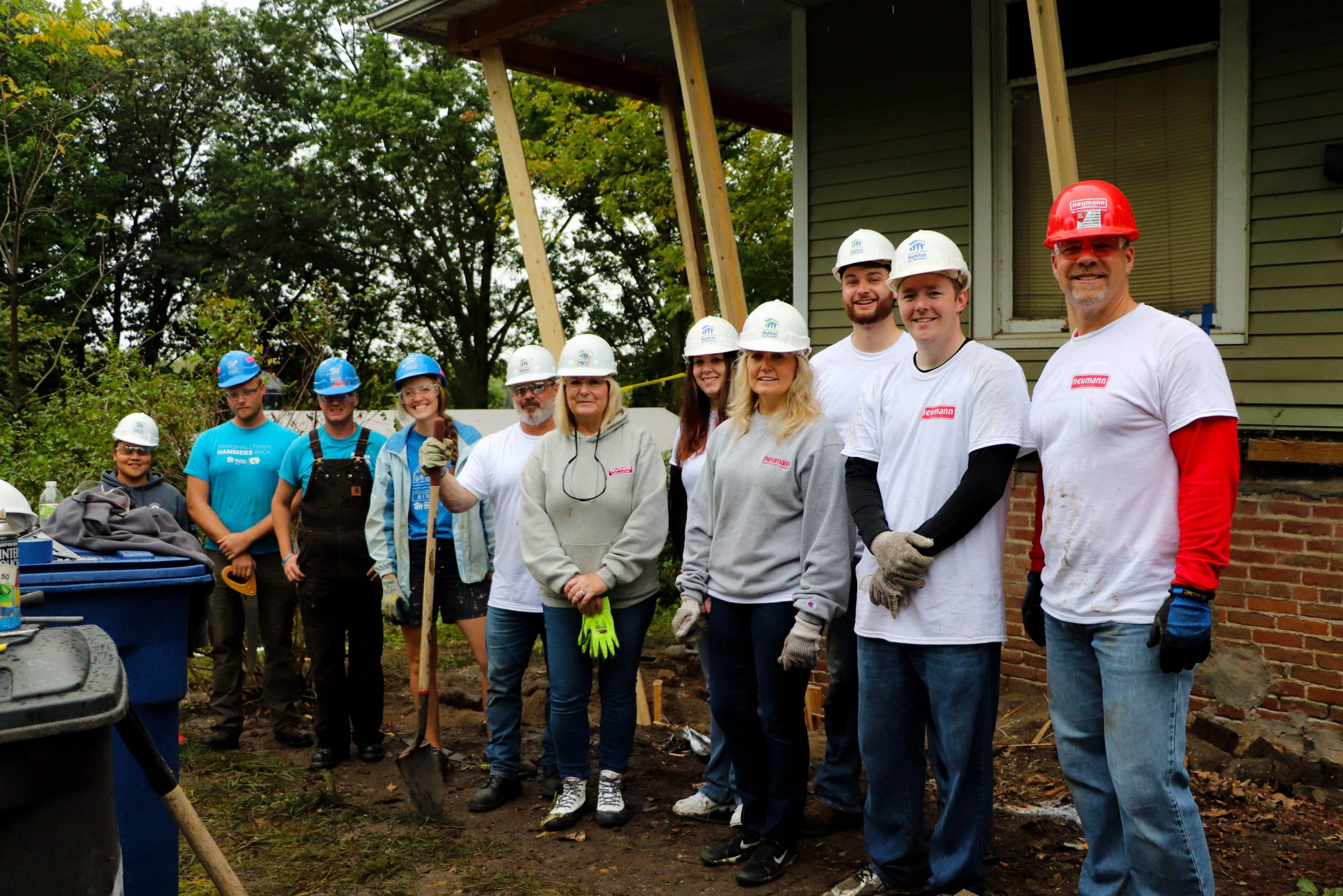 Neumann Brothers Rock the Block with Habitat for Humanity