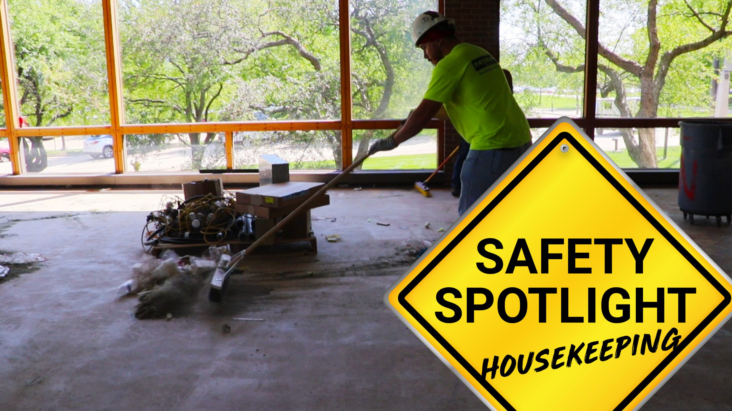 Safety Spotlight: Housekeeping