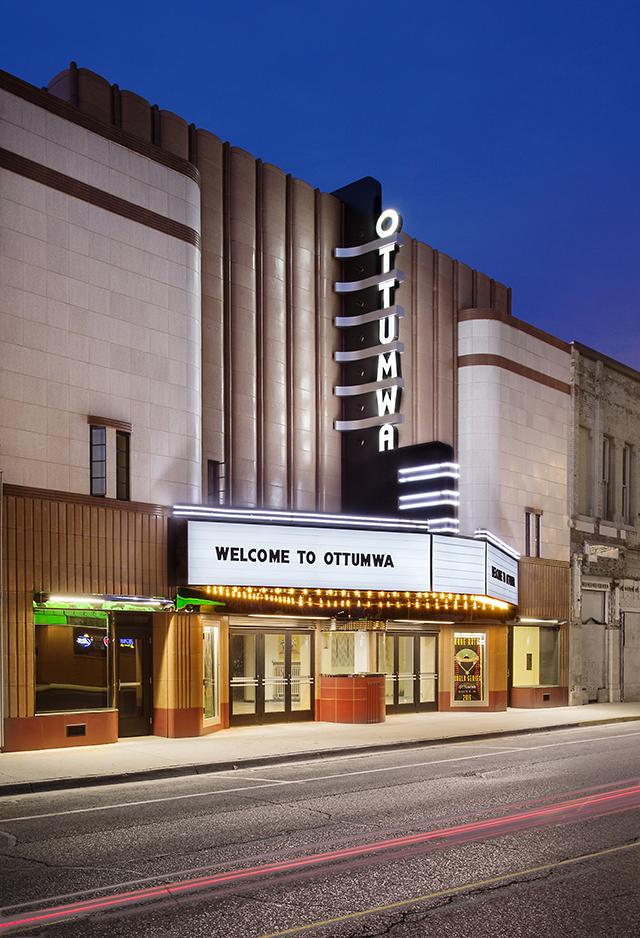 Ottumwa Theatre Facade Restoration